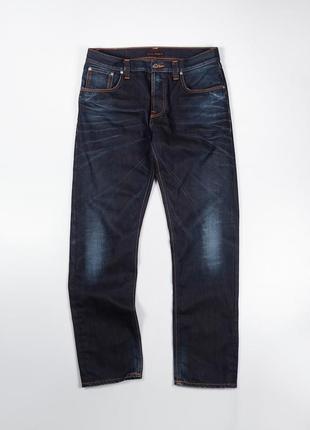 Обалденные джинсы в красивом цвете nudie jeans