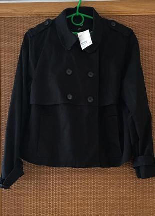 Коротенький плащик куртка h&m