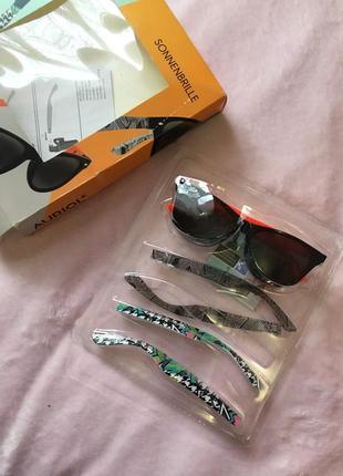 Солнцезащитные очки со съемными дужками 3 в 1