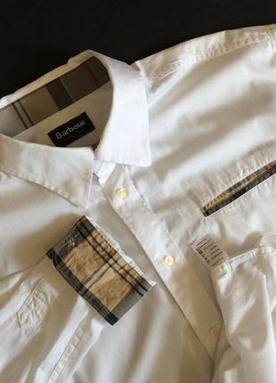 Мужская рубашка barbour оригинал р xl-xxl