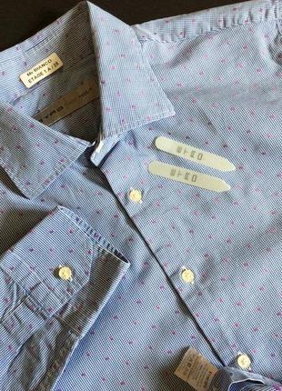 Мужская рубашка etro оригинал италия р 42 m