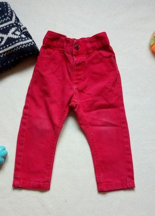 Красные джинсы george