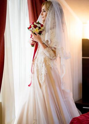 Свадебное платье mirey от оксана муха4 фото