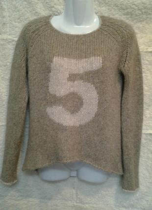 Джемпер, свитер из альпаки осень-зима grace