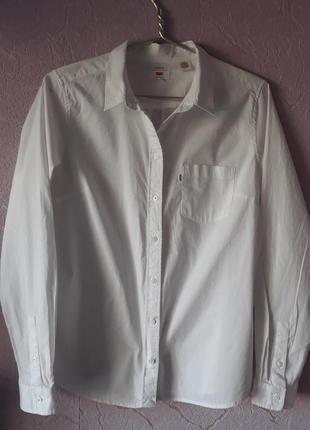 Рубашка  женская levis размер  l