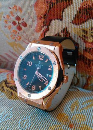 Іміджевий годинник чоловічий hublot geneve (часы мужские)
