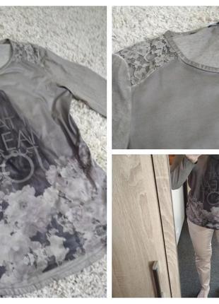 Стильная лёгкая блуза, футболка, charles voegele, p. 10-12