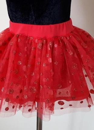 Детская фатиновая юбка