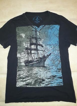 Мужская футболка colin`s   б/у