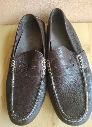 Кожаные туфли polo ralph lauren