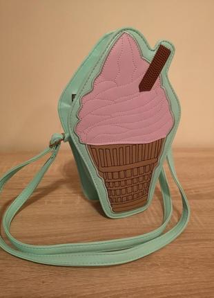 Модная кроссбоди сумка мороженое