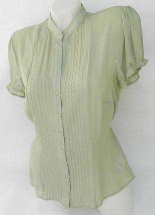 Блузка фисташкового цвета f&f