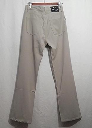 Gucci, брюки штаны джинсы унисекс хлопок, made in italy1 фото