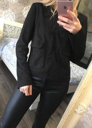 Пиджак под замш