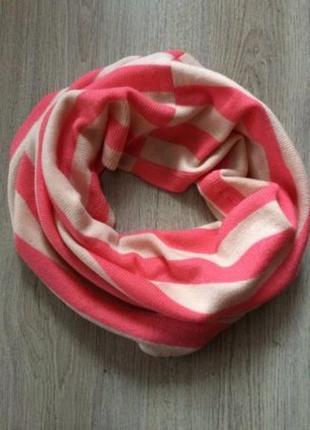 Новый полосатый хомут, снуд, шарф