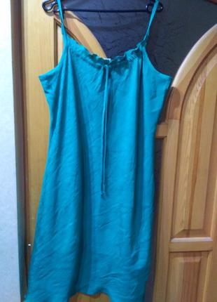 Интересное летнее платье р.20