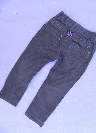Вельветовые штаны h&s 4 года104 см