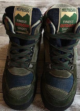 Трекинговые ботинки замшевые 32 размер стелька 20 см