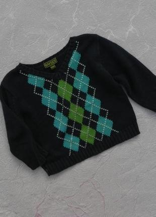 Свитер джемпер пуловер 6-12 месяцев 68-80 см