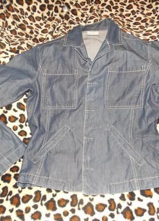 Пиджак, джинсовка. versace jeans couture