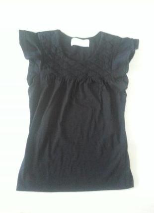 Майка блуза с воланами zara