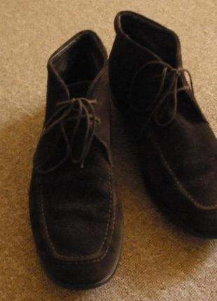 Демисезонные ботинки geox, 43 размер