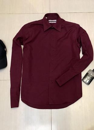 f4e19880d448c34 Мужские рубашки цвета марсала 2019 - купить недорого мужские вещи в ...