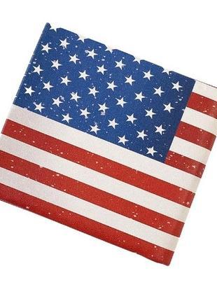 """Новый стильный короткий вместительный кошелек для женщин и мужчин """"америка"""""""
