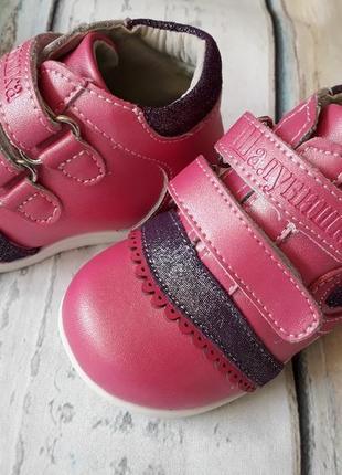 Ортопедические полностью кожаные ботинки шалунишка 19 размер4