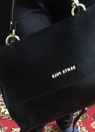 Сумка сумочка клатч santa polo новая