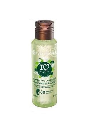 Концентрированный эко-шампунь для блеска волос ив роше