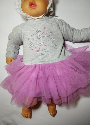Кофта нарядная на малышку 6-9 месяцев