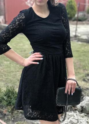 🖤кружевное платье george🖤