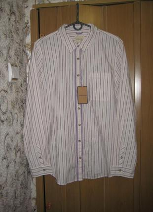 Женская легкая рубашка g. h. bass  р. хл