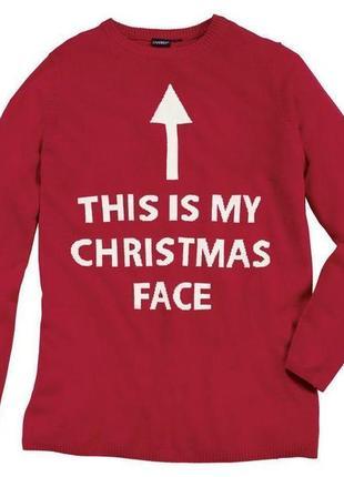 Пуловер новогодний livergy германия