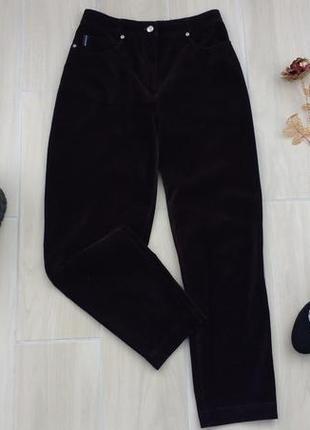 Р l-xl велюровые джинсики с высокой посадкой , отличного качества ! винтаж
