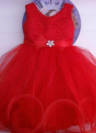 Бальное платье на 4-5 лет