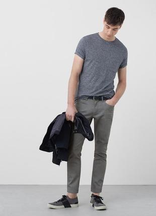 Приталені чоловічі джинси від mango man розмір 32/42