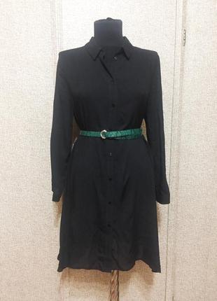 Базовое платье-рубашка zara