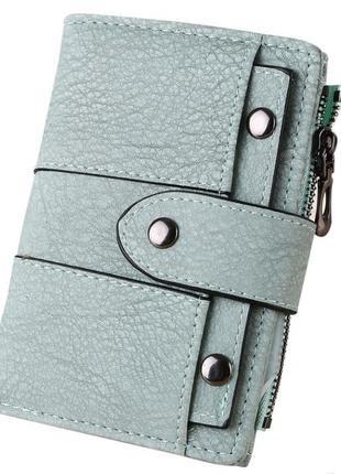 Forever young новый добротный идеальный мятный кошелек с заклепками в стиле ретро