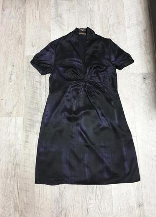Шелковое шелк платье для беременной для вагітної
