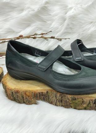 Кожаные туфли лодочки ecco (37 размер) новые сток