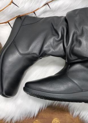 Кожаные сапоги hotter ( 39 размер )