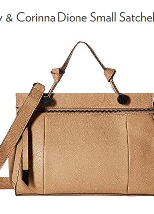 Универсальная бежевая сумка foley &  corinna сша