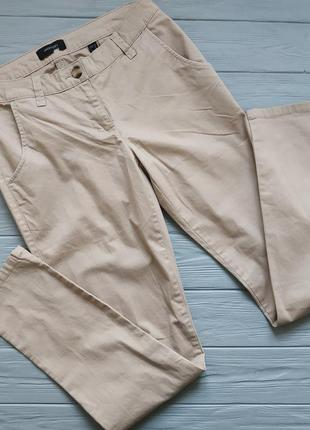 Классные коттоновые брюки р.38 германия