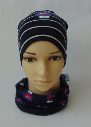 Набор шапка хомут takko fashion, 2-8 лет