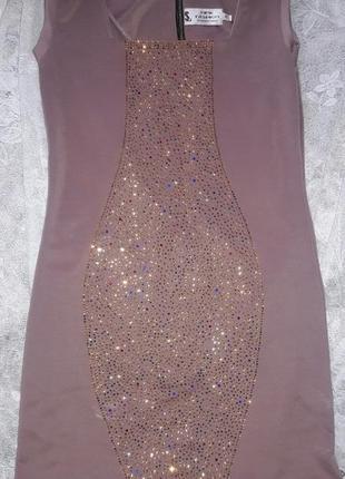 Платье клубное нарядное