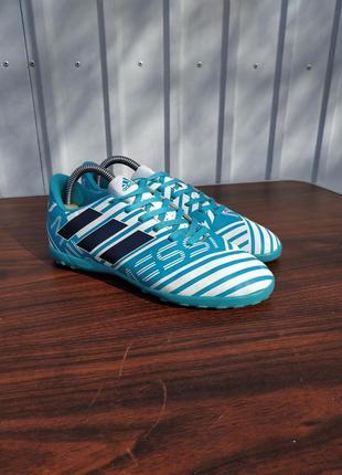 Шиповки adidas nemeziz messi 17.4 s77206,размер 35 1/2,стелька 22 см...