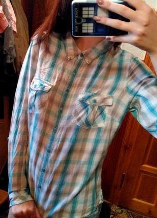 Красивенная рубашка marks&spencer
