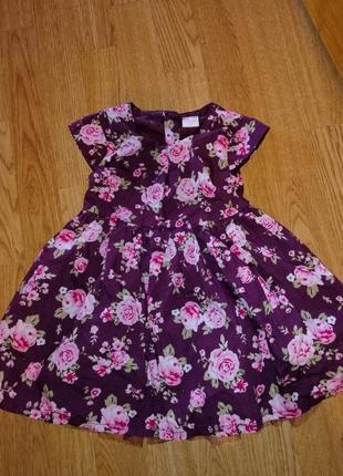 Платье нарядное на девочку на годик
